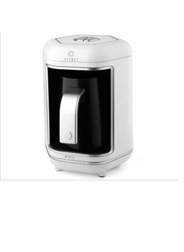 King K-605 Kısmet Türk Kahve Makinesi Beyaz